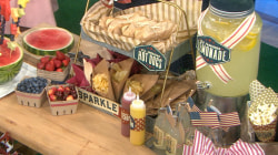 Perfect (and patriotic!) ideas for your Fourth of July party