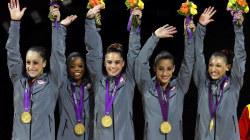 Simone Biles, Gabby Douglas prepare for trials ahead of Rio