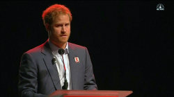 Prince Harry and Elton John Speak at Durban AIDS Conference