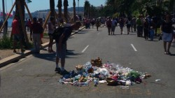 Spit and Garbage Left at Site of Truck Attacker's Death