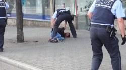 Watch: German Cops Arrest Syrian after Machete Attack