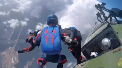 Watch Skydivers Compete at World Military Parachuting Championships