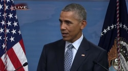 Obama: Big Chunk of My Gray Hair Comes Out of Syria Meetings