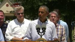 WATCH: President Obama Remarks after Touring Flood Damage