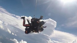 See 'Paralyzed Bride' Rachelle Chapman fulfill her dream of skydiving