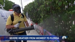 Florida Communities Prepare For Storms Amid Growing Zika Threat