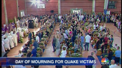 Italy Holds National Day of Mourning for Victims of Earthquake