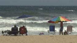 Carolina Coast Eyes Approaching Storm