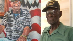 Portrait Honors Oldest Veteran