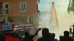 Cameras Capture Moment Aftershock Rattles Italy