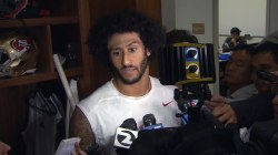 Colin Kaepernick: I'll Continue to Sit for National Anthem