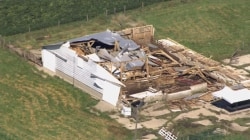 Aerial Footage Shows Tornado's Destruction