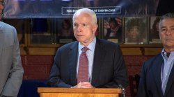 Sen. McCain Pressed on Vets Asking Him to Renounce Trump
