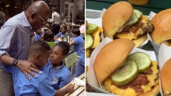 Al Roker debuts new Shake Shack 'Roker Burger' - and these kids love it!