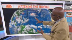 Hurricane Gaston strengthens in Atlantic; separate storm targets Florida