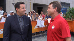 Davis Love and Carson Daly tee up 2016 Ryder Cup on TODAY plaza