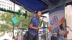 Andy Grammer performs 'Honey, I'm Good' live on TODAY