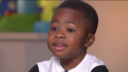 See Zion Harvey, the first child to get a double hand transplant, 1 year later