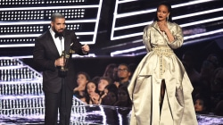 Rihanna, Drake share a romantic moment during the VMAs