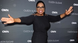 Oprah shows off her weight loss on Hollywood red carpet