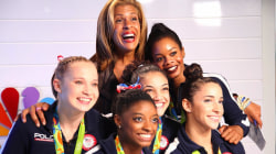 Hoda's favorite Olympic moment: Zac Efron surprises the Final Five