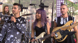 DNCE frontman Joe Jonas reveals what 'Cake by the Ocean' means