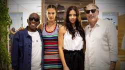 Matt and Al go shopping with supermodels (but will they buy Speedos?)