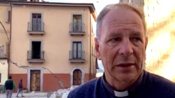 Tearful Priest Laments 'Immense Tragedy' of Italy Earthquake