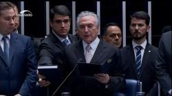 Michael Temer Sworn in as New President of Brazil