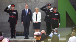 Prince William Attends 70th Anniversary of German State Founding