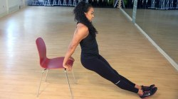 3 exercises you can do with a chair