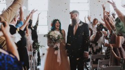 Paralyzed woman learns to walk for her wedding day