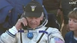 Astronaut Jeff Williams returns to Earth after 6 months in space