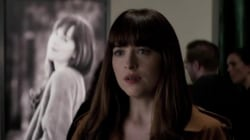 'Fifty Shades Darker' trailer has the internet talking, and Tamron fanning herself