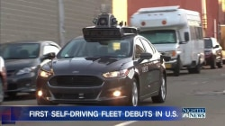 Self-Driving Uber Cars Hit the Road in Pittsburgh as Safety Concerns Remain
