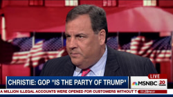 Christie on Trump debate prep & Putin comments