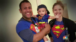 Meet Superhero Nurse Who Dresses Part to Put Smiles on Patients' Faces