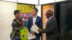 TODAY anchors give away Global Citizen Festival tickets on Freebie Friday