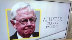 Life well lived: Journalist Allister Sparks