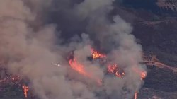 Triple-Digit Temperatures and Record Fires Sweep Parts of California