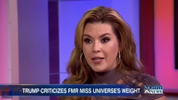 Trump Doubles Down on Disparaging Comments About Former Miss Universe