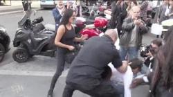 Matt Lauer takes a stand after prankster tries to accost Kim Kardashian