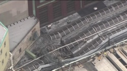 NJ train crash: At least 1 dead, scores injured; train reportedly stopped 100 ft beyond bumper