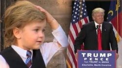 Toddler Gaining Fame as 'Baby Trump'