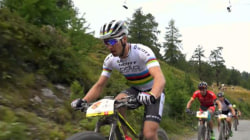 Watch Spectacular Mountain Bike Race in Swiss Alps