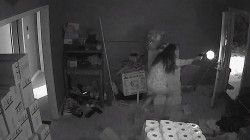 Video Shows Armed Suspects Surprised by Gun-Shooting Home Owner