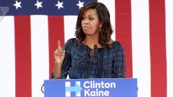 Michelle Obama Calls Out Birtherism in Campaign Stop for Clinton