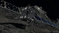 Spacecraft Rosetta Ready for Final Mission