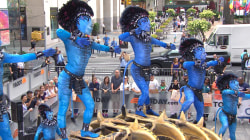 Watch Cirque du Soleil perform excerpt from 'Avatar'-inspired show 'Toruk'