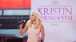 Kristin Chenoweth performs 'Smile' on TODAY